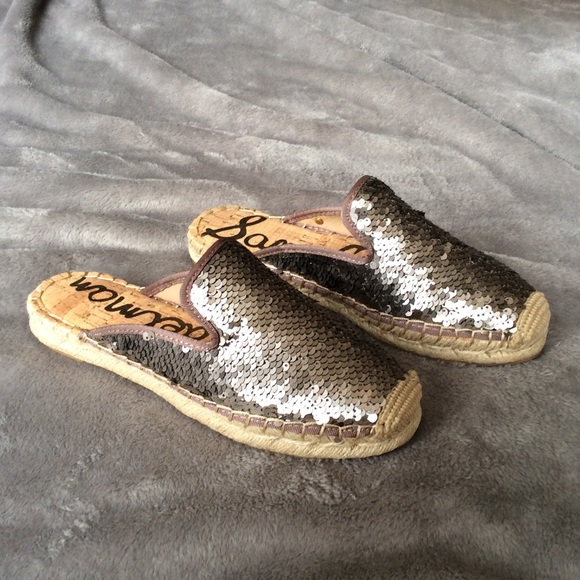 244af68c8 Sam Edelman Shoes | Nib Kerry Sequins Espadrilles Sz 7 | Poshmark